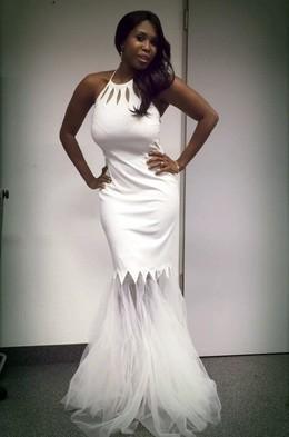 Non nude ebony beauty Motsi Mabuse..