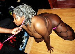 Chubby black wife Mizz Kimmie in hot..