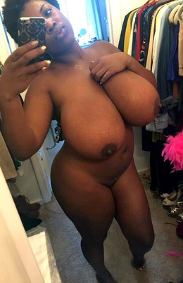 Black women with huge natural breasts..